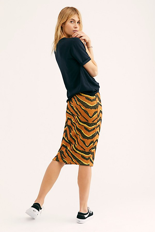 Slide View 2: Easy Tiger Midi Skirt