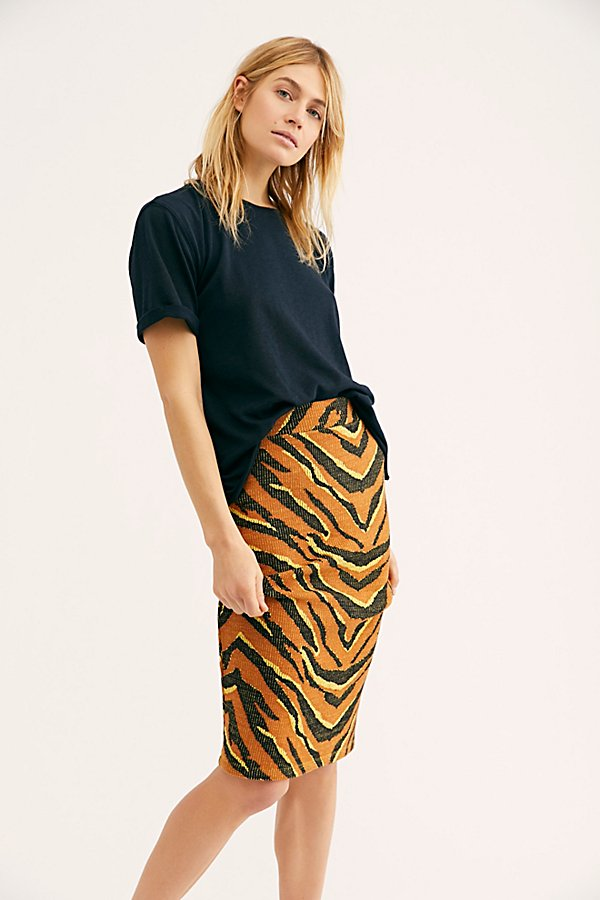 Slide View 3: Easy Tiger Midi Skirt