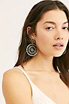 Thumbnail View 1: Solar Beaded Hoop Earrings