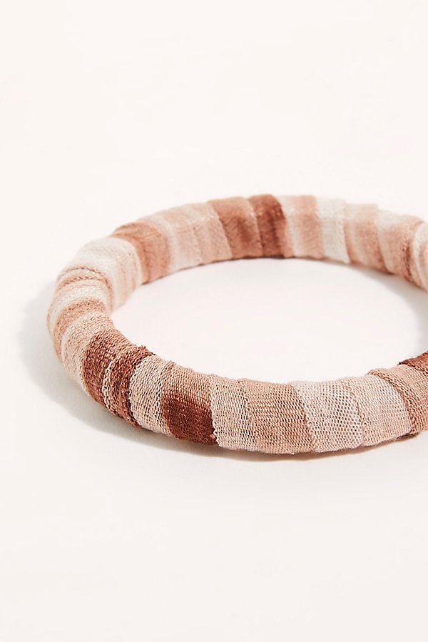 Slide View 2: Sunkissed Wrapped Bangle