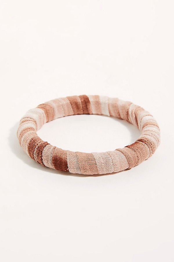 Slide View 3: Sunkissed Wrapped Bangle