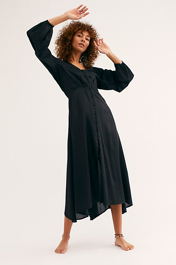 Slide View 2: Later Days Midi Dress