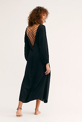 Later Days Midi Dress
