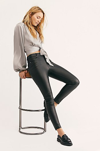 Up All Night Vegan Skinny Trousers