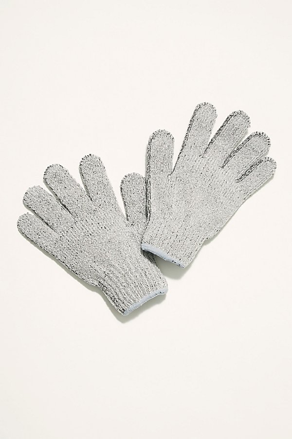 Slide View 1: Carbonized Bamboo Exfoliating Gloves