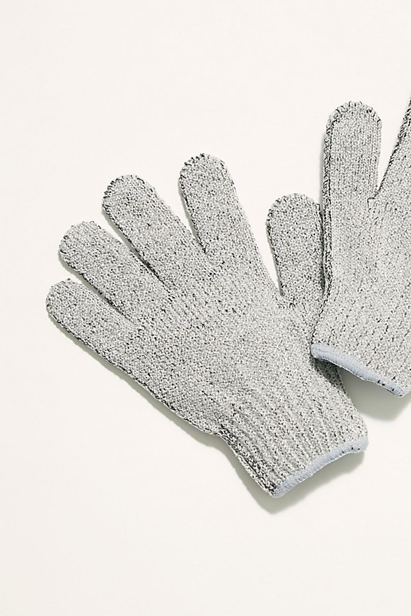 Slide View 2: Carbonized Bamboo Exfoliating Gloves