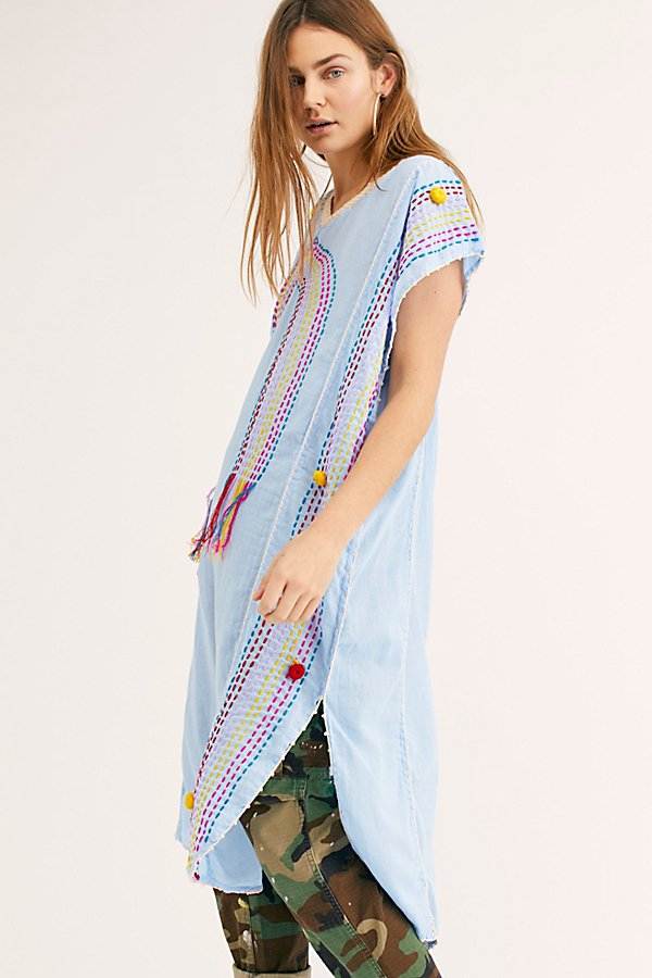 Slide View 3: Chasing Rainbows Embroidered Kaftan