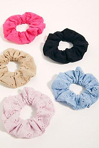Eyelet Scrunchie by Free People