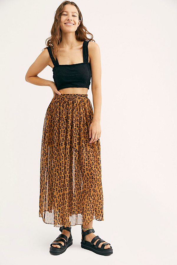 Slide View 1: Lydia Maxi Skirt