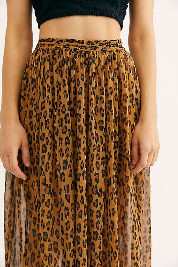 Slide View 3: Lydia Maxi Skirt