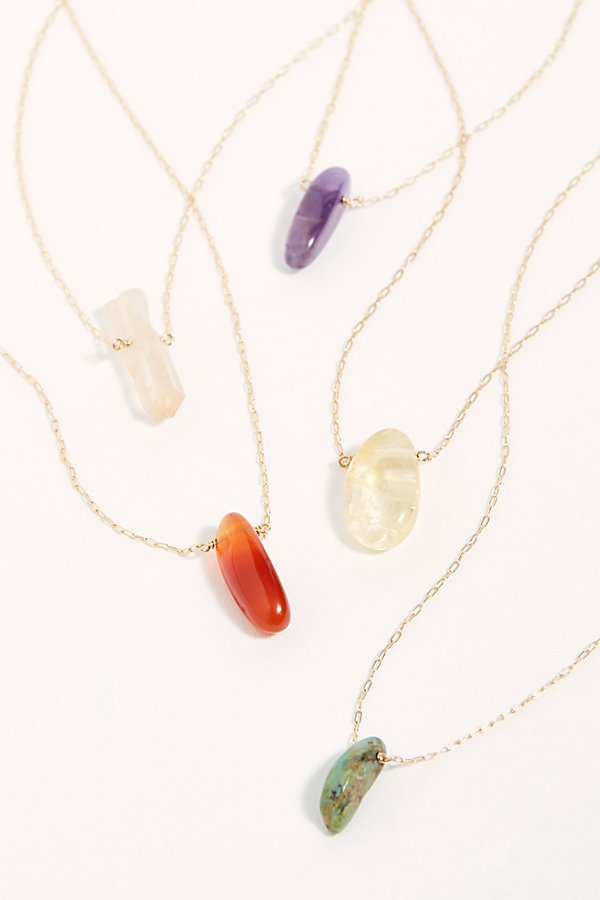 Slide View 1: Healing Stone Necklace