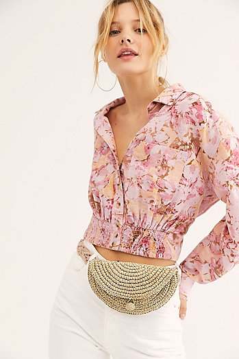 Forever Flowers Printed Top