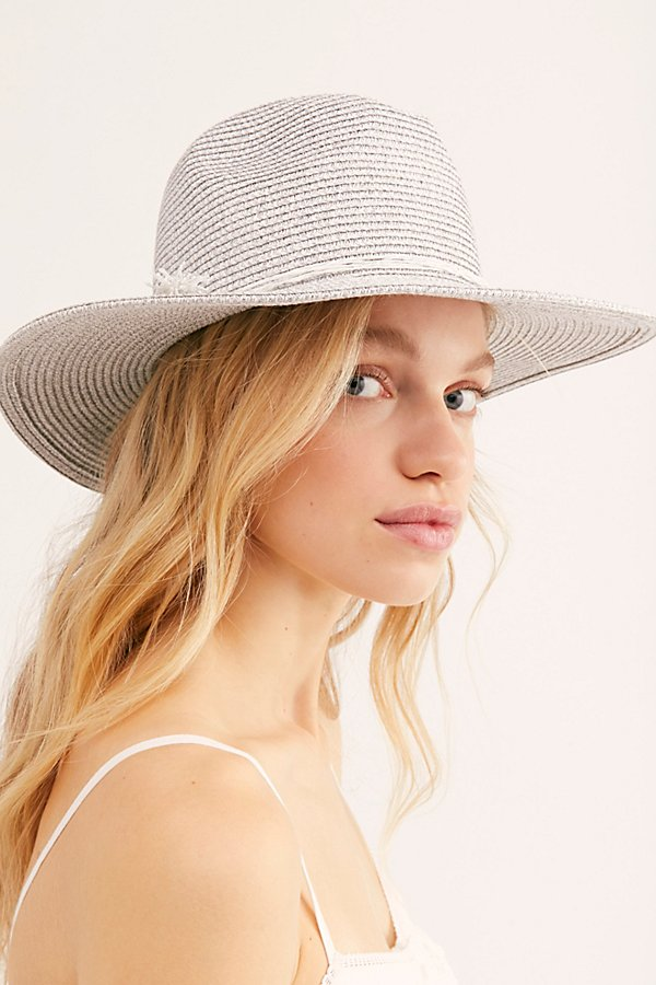 Slide View 3: Silver Linings Straw Hat
