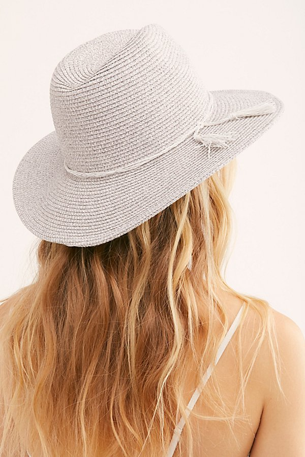 Slide View 4: Silver Linings Straw Hat