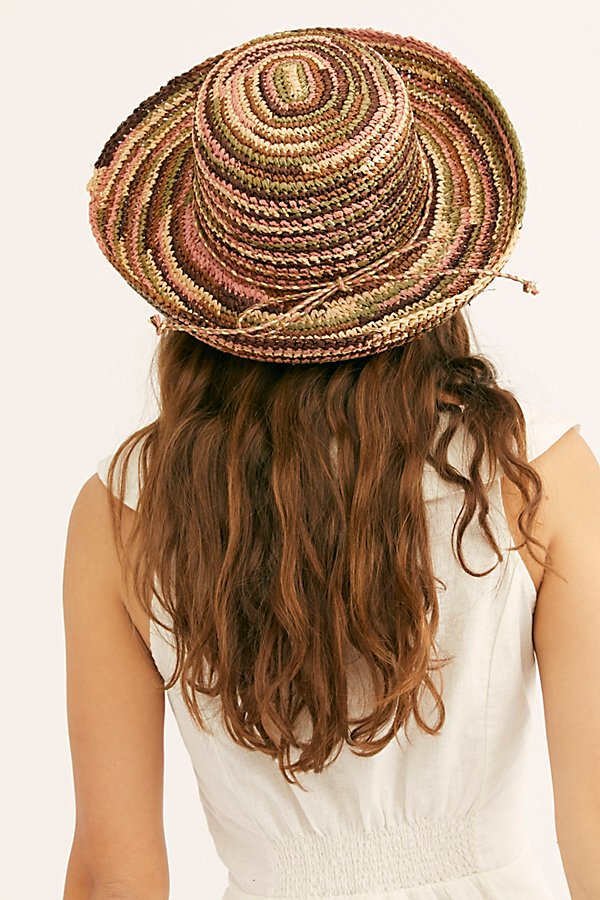 Slide View 3: Sweet Pea Straw Hat