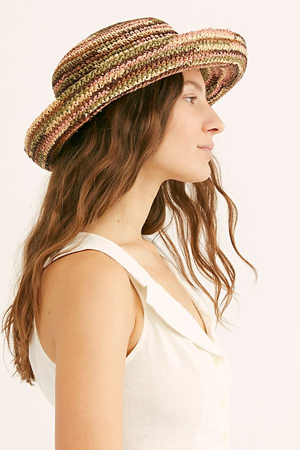 Slide View 4: Sweet Pea Straw Hat