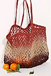 Thumbnail View 2: Wild Flower Ombre Jute Tote