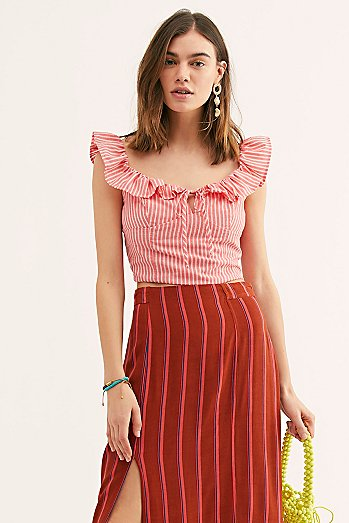 Young Love Striped Top