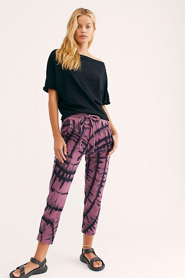 Tie Dye Jacquard Pants by Twenty