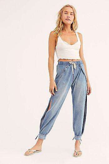 075dbf8339d OneTeaspoon Split Seam Harem Jeans