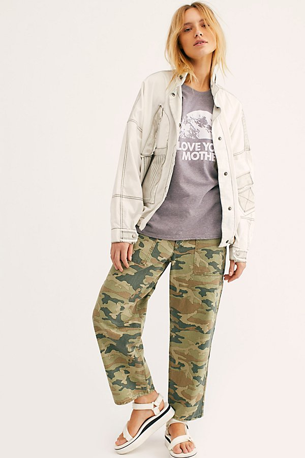 Slide View 1: Remy Pant Camo Printed