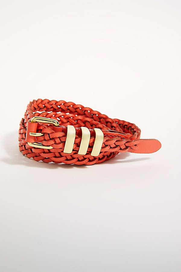 Slide View 4: Rosie Braided Skinny Belt