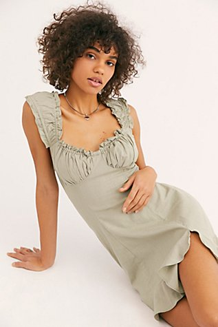 Like A Lady Mini Dress by Free People