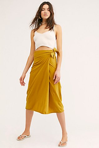 Ina Wrap Skirt by Free People