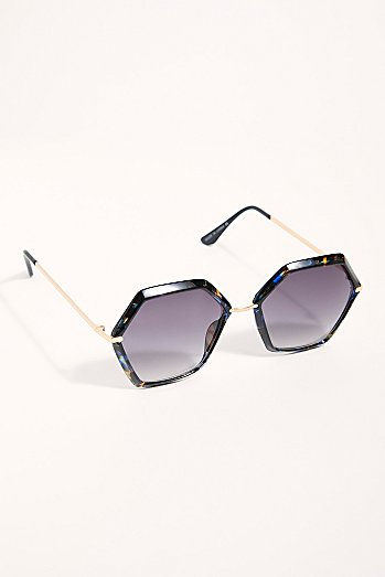 Octagon Party Sunglasses