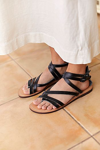 1a12f6459b3b Vegan Amber Strappy Sandal