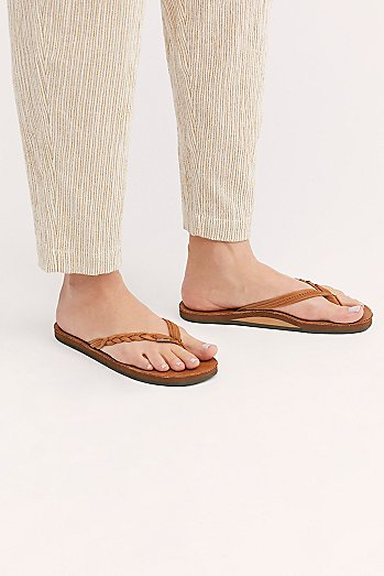 Rainbow Flirty Braidy Thong Sandal