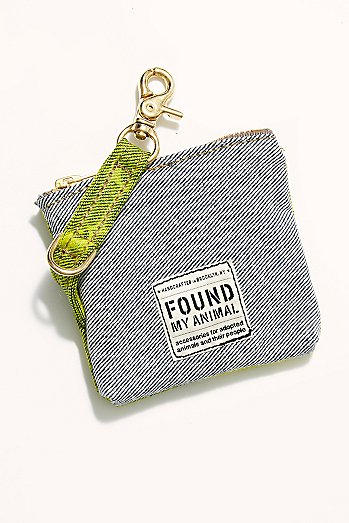Free People X Found Acid Wash Doodle Bag
