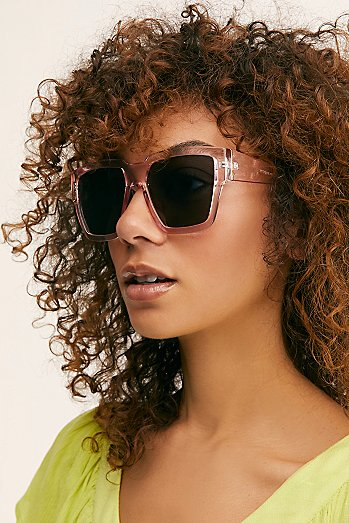 Holiday In The Sun Square Sunglasses