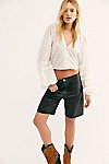 Thumbnail View 1: Hailey Leather Bike Shorts