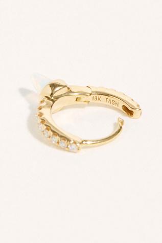 6.5 Diamond Opal Eternity Single Earring by Maria Tash