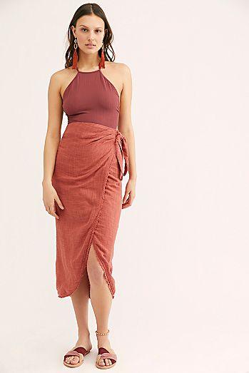 524c595d540 Leg s Out Sarong Skirt