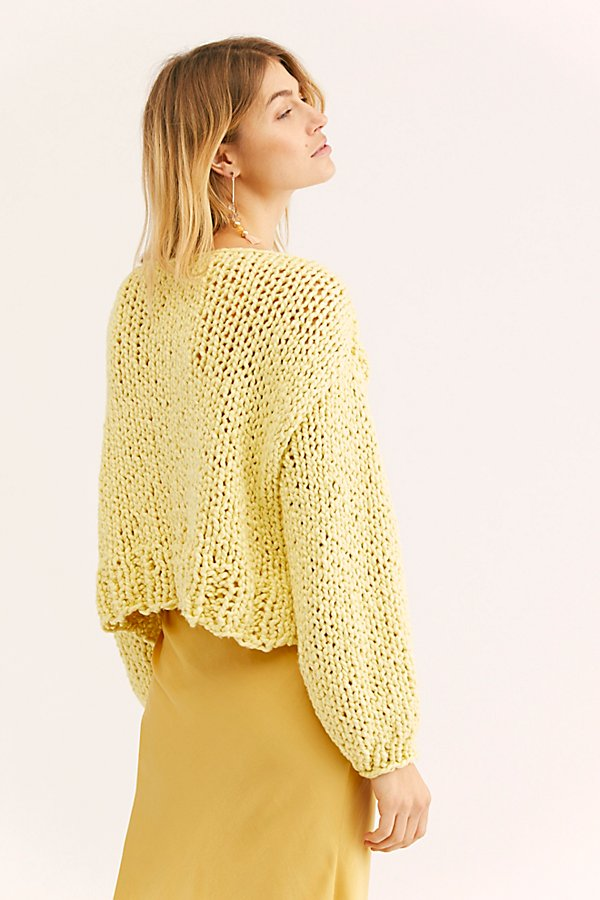 Slide View 2: Off Her Shoulder Cable Sweater