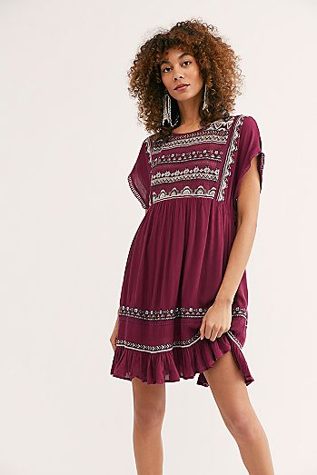 924458c84b78 Sunrise Wanderer Mini Dress