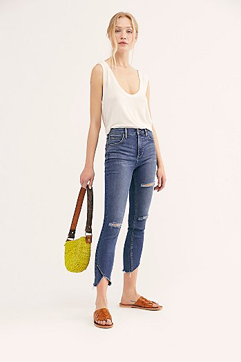 Sunny Mid-Rise Skinny Jeans