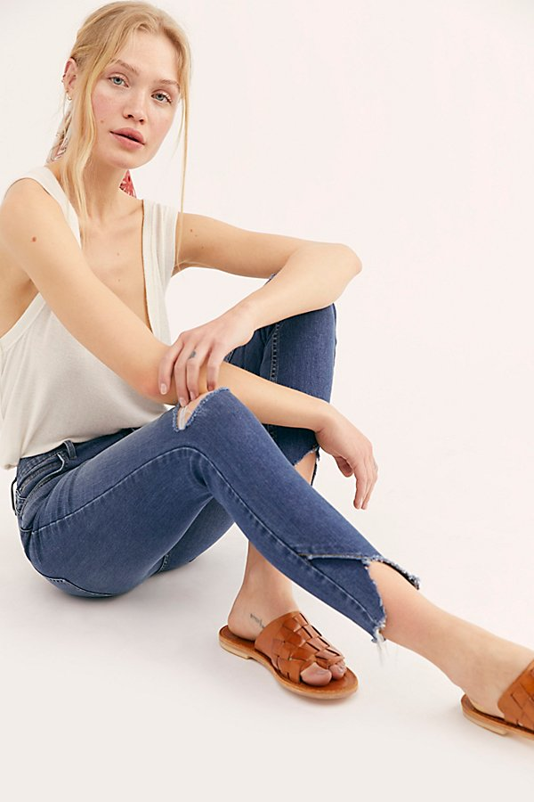 Slide View 3: Sunny Mid-Rise Skinny Jeans