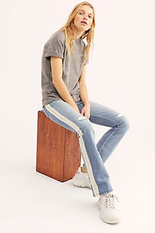 Sandrine Rose Sashiko Jeans by Free People