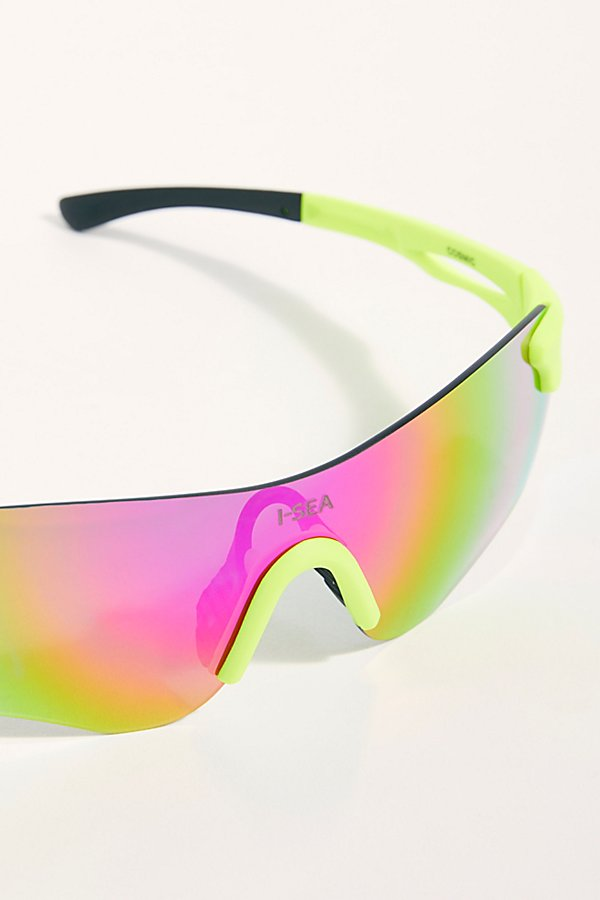 Slide View 3: Alessandra Cosmic Shield Sunglasses