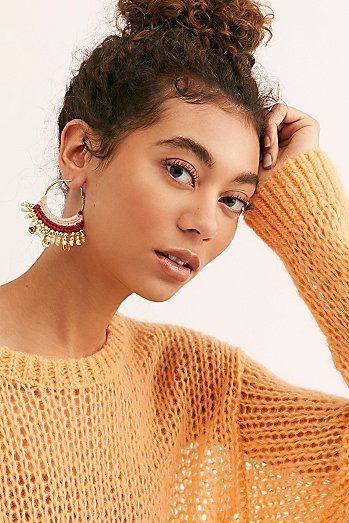 Off Shore Hoop Earrings