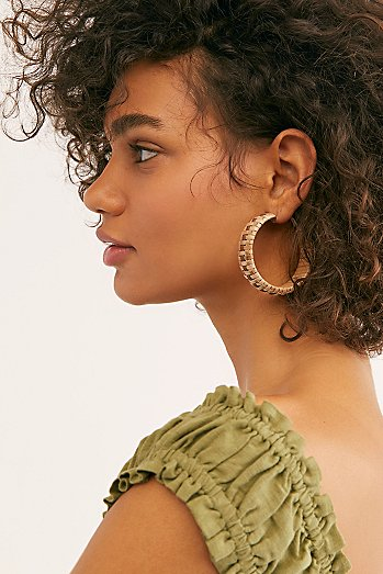 Fez Hoop Earrings