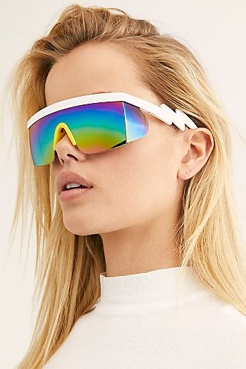 ef9e2f9cfa Brenda Sport Shield Sunglasses