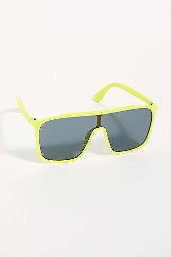 10492ff00f05 Annie Lambo Shield Sunglasses