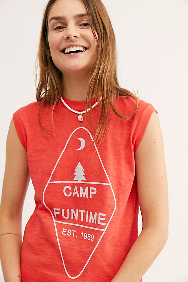 Slide View 1: Camp Funtime Muscle Tee