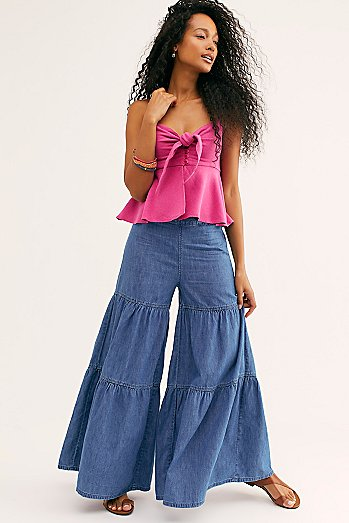 Stargazing Tiered Pant
