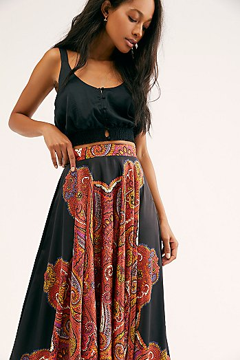 Paisley Dreams Maxi Skirt