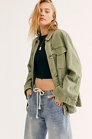 Avery Shirt Jacket by Free People